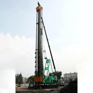 JB160A Hydraulic Walking Piling Rig
